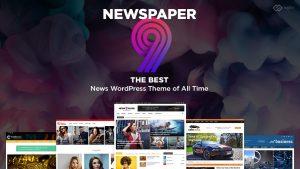 Newspaper 9 WordPress Theme