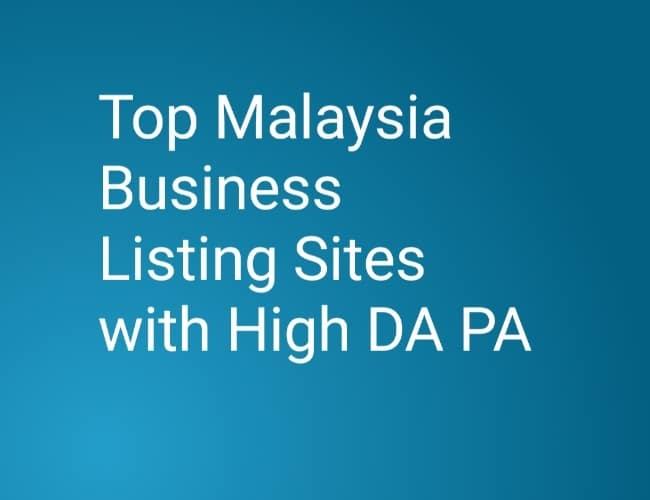 Malasyia Business Listing Sites